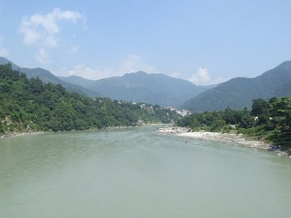 River ganga at Rishikesh
