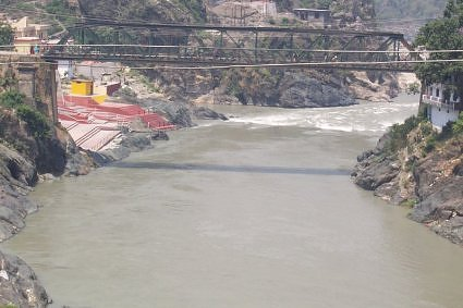 Devprayag - confluence of rivers Alaknanda and Bhagirathi Ganga