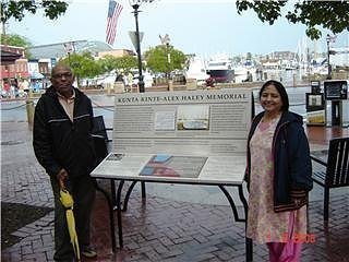 Shalini Chandra and Yogesh Chandra in Annapolis, Maryland