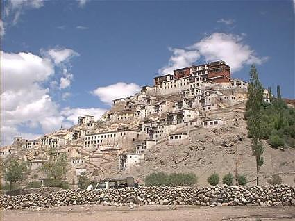 Thikse monastery and library, Leh