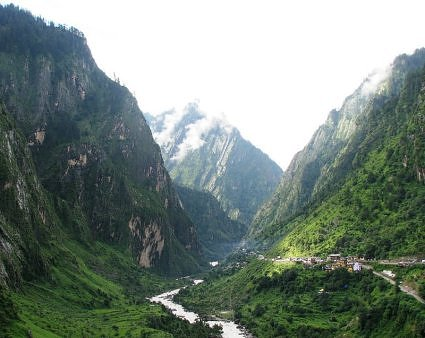 Govind Ghat on the way to Valley of Flowers and Hemkund