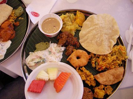 Vegetarian Indian Ayurvedic cuisine