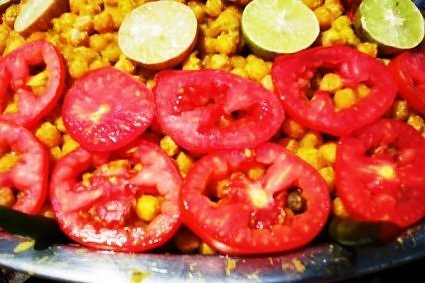 Matar Chaat Street Food Haridwar India