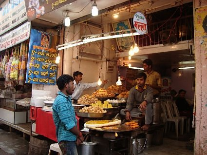 Sweet shop Vrindavan