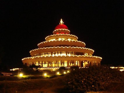 Vishalaskshi mandap, Art of Living Ashram, Bangalore
