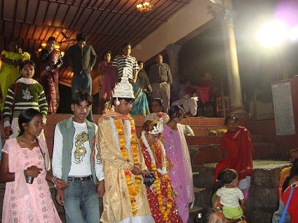 A Bengali wedding at Kamakhya devi temple, Guwahati, Assam