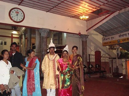 Wedding celebration at Kamakha devi temple, Guwahati, Assam, India