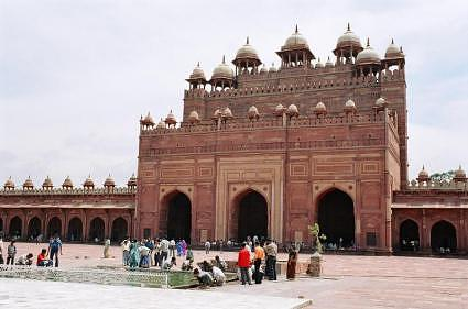 Jama masjid at World Heritage Site, Fatehpur Sikri, Uttar Pradesh