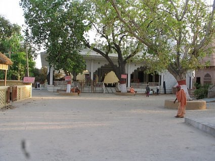 Ashram and Gaushala at Raman Reti Gokul