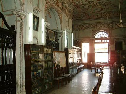 Library, La Martiniere College Lucknow