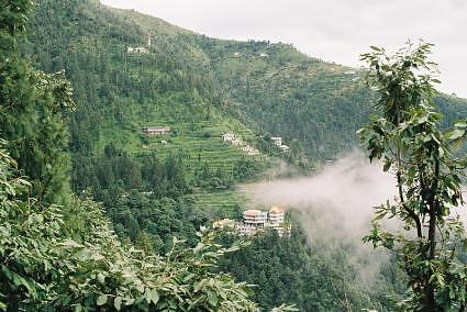 A view of Dalhousie, Himachal Pradesh, India