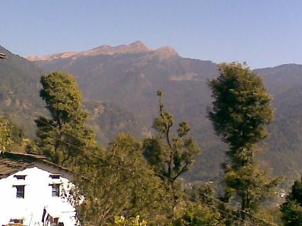Chandrashila peak, the home of Lord Tungnath.