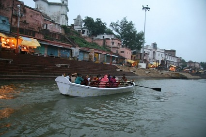Boatride on River Mandakini Chitrakoot