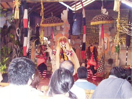 Baron dance performance at Bali