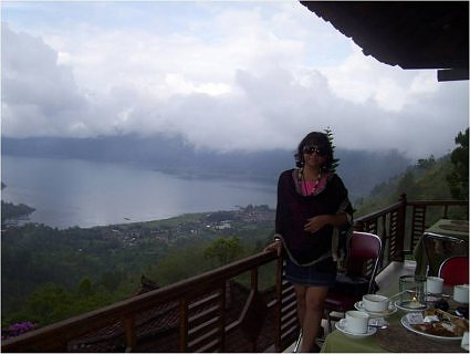 Barila Bisht at Kintamani hills, in Bali
