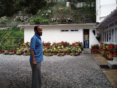 Jimmy Joshi gardener, The Naini Retreat, Kumaon Himalaya