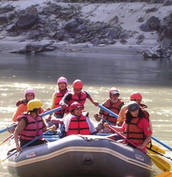 White Water Rafting on Ma Ganga, Shivpuri, Rishikesh