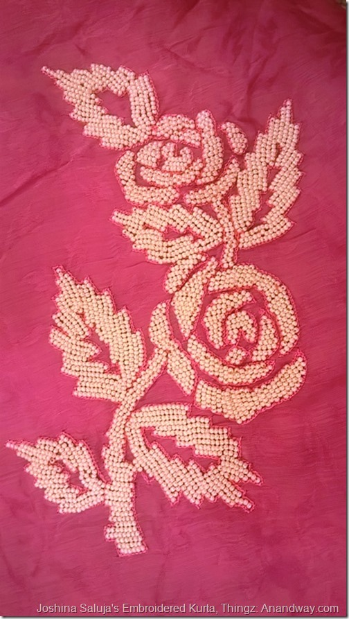 Beads embroidery, Joshina Saluja Thingz Lucknow