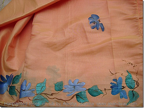 handpainted roses on silk by anisha sharma (2)