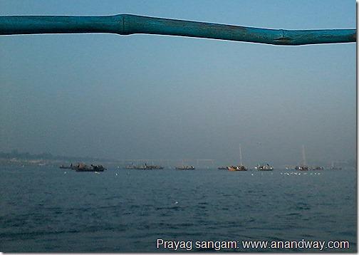 rivers yamuna ganga saraswati prayag