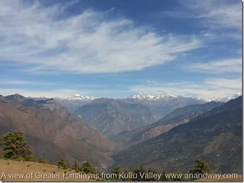 kully valley mountain ranges