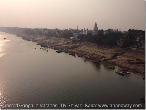 ganga ghats varanasi by shivani kalra
