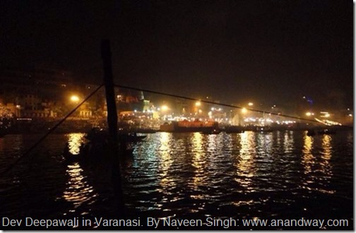 varanasi river ganga by night by naveen singh