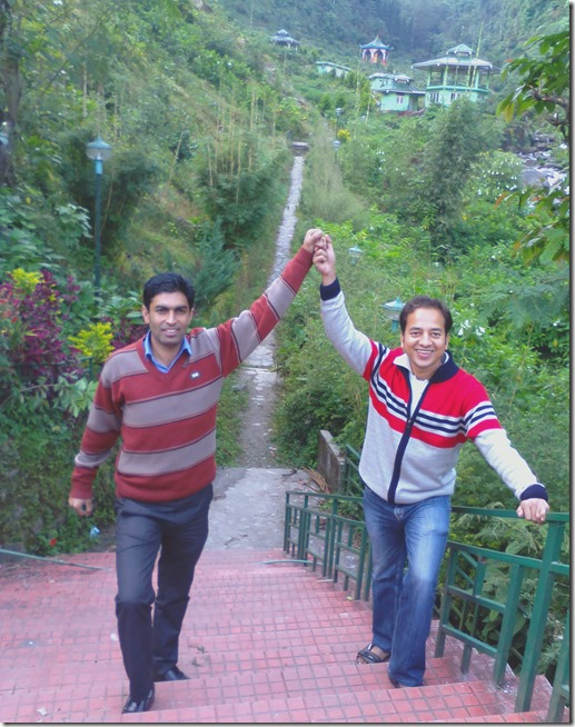 Dheeraj Gupta in Pelling Sikkim India