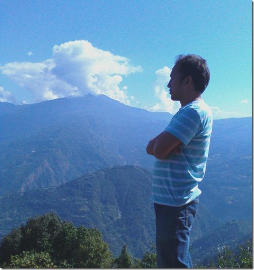 Dheeraj Gupta, pelling, Sikkim, India