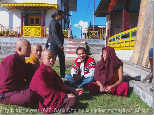 Pelling Sikkim monastry