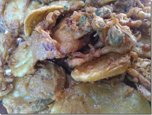 pakora at dhanaulti