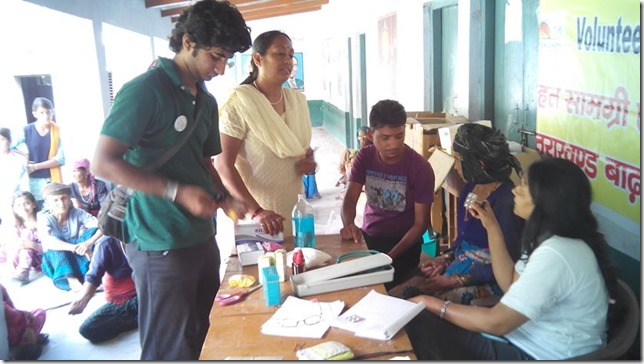 medical camp at atthalli village, dharasu