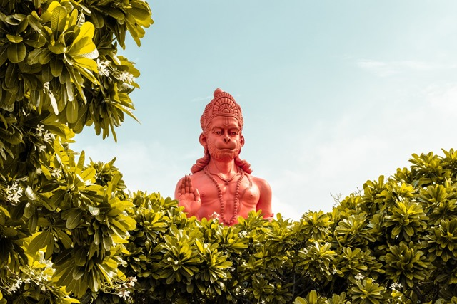 hanuman-ji-The Secret of Hanuman ji's strength