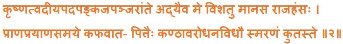 Srimad Bhagwatam Magalacharan Sanskrit Text Lyrics (2)