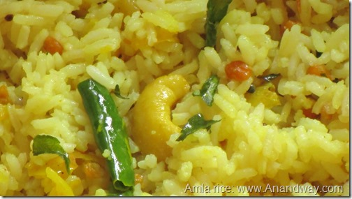 amlaki rice recipe
