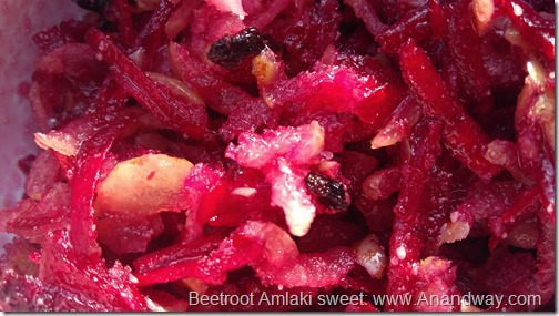Amla Beetroot Indian dessert salad recipe (4)